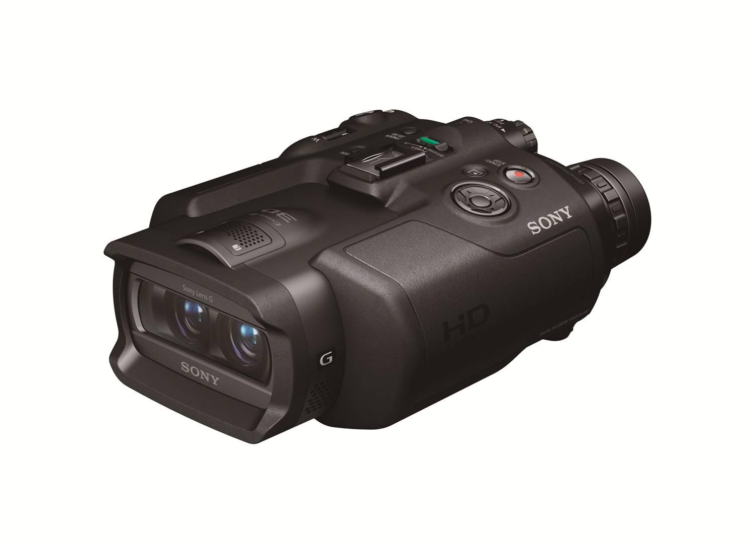 소니 3D 쌍안경 'DEV-5'