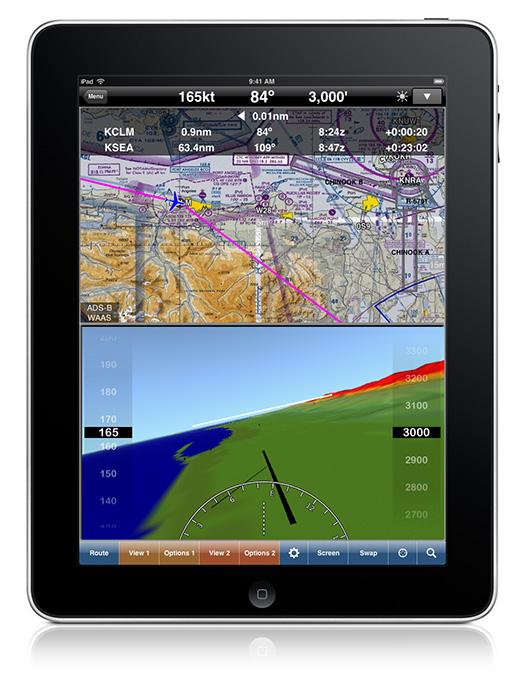 항공 네비게이션 앱 WingX Pro