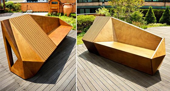 영국 유학생 전주형, 2012 런던 건축 페스티벌 벤치 공모전 당선!
