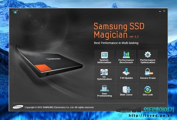 Magician으로 SSD 최적화, OS 최적화, 노턴 고스트 백업 등을 할 수 있