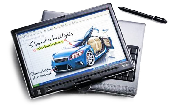 이미지 출처: 구글 이미지 검색, http://www.trustedreviews.com/laptops/news/2006/08/22/Asus-Tablet-Swallows-Core-2-Duo/p1, 일부 수정편집