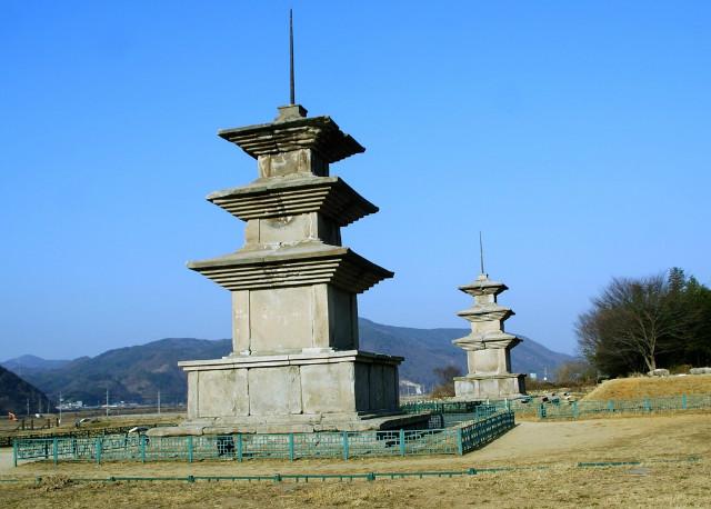 감은사지 3층 석탑