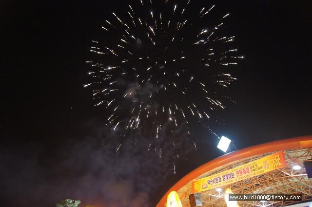 익산연등축제 불꽃놀이