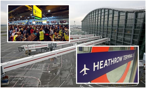 공항 터미널 개청 사상 최악의 수하물 사고를 낸 런던 히드로 공항