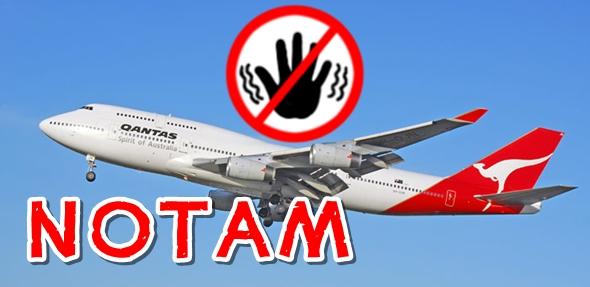 비행에 제한 혹은 금지사항을 알려주는 정보를 노탐(NOTAM)이라 한다.