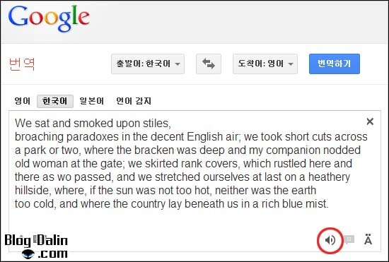구글 영어번역기 설명