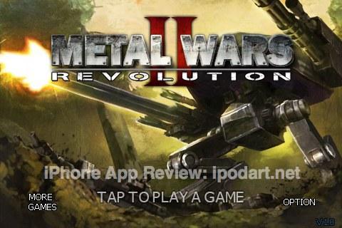 아이폰 아이팟터치 게임 메탈워즈  MetalWars2