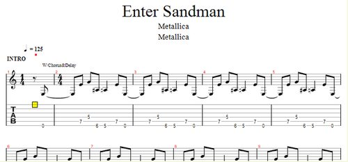 how to play mr sandman on guitar tabs