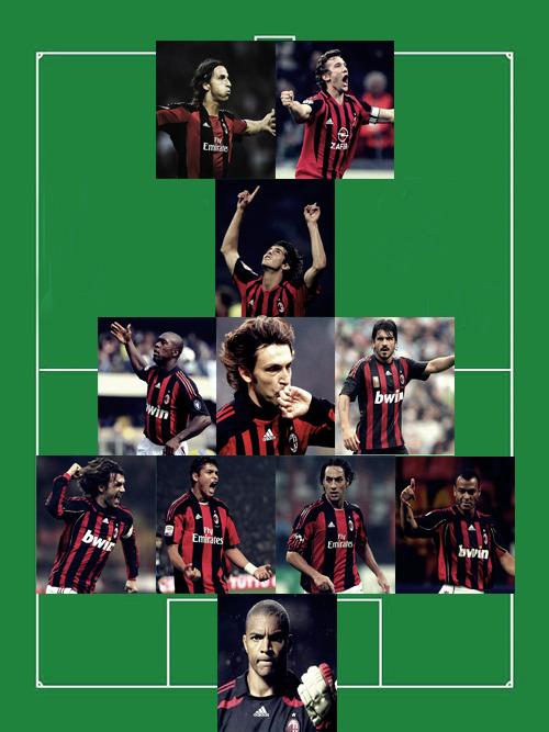 2012 AC Milan Best 11
