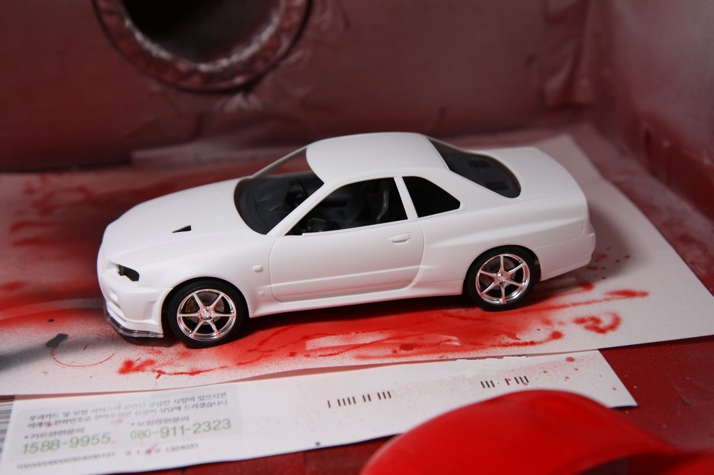 Tamiya Nissan Gtr  Th Scale Paint Jobs
