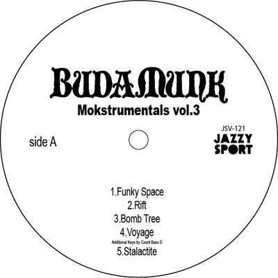 Budamunk/Mokstrumentals Vol.3 'New Release'