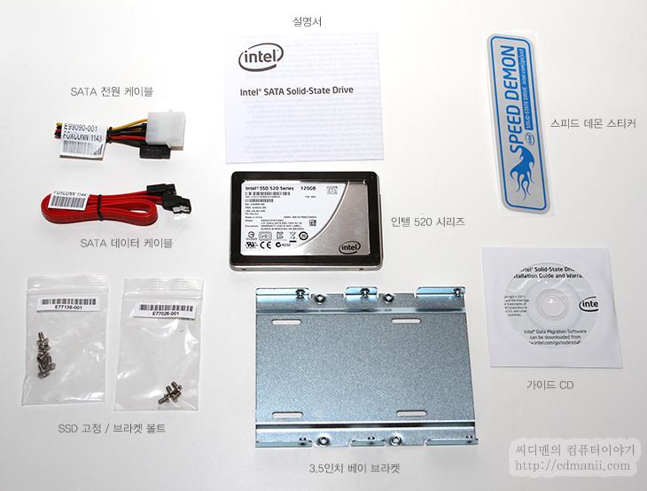 인텔 SSD 520 Series, SSD, intel, 인텔, 스펙, 부팅, 속도, 특성, 샌드포드, 샌드포스, Sandforce, S-ATA3, SATA 6.0Gb/s, IT, 제품, 리뷰, 사용기, 노트북, 삼성, 울트라, 울트라북, 시리즈5, 인텔 SSD 520 Series 120GB는 스펙상으로 S-ATA3 인터페이스를 지원 합니다. 예전에 Intel 320 시리즈에 대해서 리뷰를 적은 적 있는데요. 이제는 흐름상 S-ATA3 인터페이스의 SSD가 저렴하게 나오고 있는 추세 입니다. 인텔은 예전에는 인텔의 컨트롤러를 사용하다가 나중에는 마벨 컨트롤러를 사용했습니다. 이번 인텔 SSD 520 Series 는 샌드포스 컨트롤러를 사용하였습니다. 스펙상으로는 높은 성능이 나오지만 실제 사용시 성능저하로 이야기가 많긴 했지만 인텔이 사용한다고 발표 후 인텔이 만들면 좀 다를것이라는 내용과 컨트롤러의 성능은 어쩔 수 없을것이라는 것 등 이야기가 많았는데요. 이번에 실제로 사용하면서 어느정도의 성능을 가지고 있고 편하게 사용할 수 있는지 알아보려고 합니다.  이번 부팅 속도 테스트에서는 삼성 울트라 시리즈5에 7200RPM의 HDD와 인텔 SSD 520 Series를 동일하게 셋팅 후 넣어서 부팅속도를 체크해보려고 합니다. 실제 사용을 해보니 아직까지는 문제가 전혀 없군요. 블루스크린도 한번도 뜨지 않았고 처음 선입견과는 달리 성능도 괜찮았습니다. A/S 기간이 보통 3년인데 반해서 이 제품 경우 5년을 제공 합니다. (320 시리즈도 동일) 이런 부분을 감안하면 가격적인 부분에서도 꽤 장점이 있어 보입니다.  최근에는 SSD의 사용이 상당히 많아 졌습니다. HDD의 가격이 폭등한 탓도 있고 SSD가 가격이 점점 저렴해진 탓도 있죠. 한번 사용해본 사람의 경우 다른 사람의 견적의 조언에도 SSD를 추천해 줄정도로 치명적이 매력이 있는점도 빼놓을 수 없죠. 윈도우7이 보급이 많이 되었고 최근 노트북들도 S-ATA3와 애초에 SSD를 장착한 모델들이 많이 나오면서 익숙해진점도 빼놓을 수 없습니다.  이런 여러가지 배경들이 이제 점점 일반 유저들도 SSD로 가도록 유도를 하고 있죠. 위에 스펙이 어쩌고 컨트롤러가 어쩌고 등 어렵게 생각할 필요는 없습니다. 막상 사용해보고 있는 입장에서는 일반 하드디스크와 다를게 없으니까요. 수명이 제한이 있다더라 관리가 복잡하다더라등 여러가지 이야기가 있지만 이것도 걱정하진 마세요. 대부분 윈도우7이 자동으로 관리를 해주고 툴등으로 자동화 관리가 가능하니까요. 이것도 어렵다면 사실 그냥 쓰셔도 됩니다. 걱정하지마세요. SSD는 잘 고장나진 않습니다.  전문성 있는 내용은 자세히 설명하면서도 쉬운부분은 최대한 쉽게 설명을 해 보겠습니다. 어려운 부분은 건너띄시고 천천히 읽어주세요.