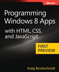 Programming Windows 8 App