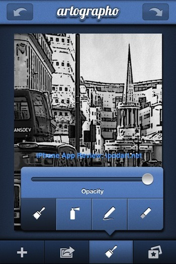 아이폰 artographo 사진 만화 수채화