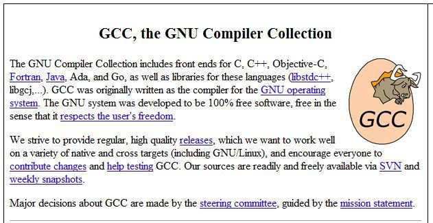 Dream Never Gets Old Site Gcc The Gnu Compiler