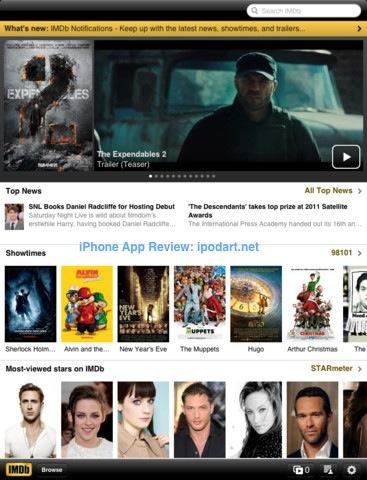 IMDb Movies & TV 아이폰 아이패드 영화 정보