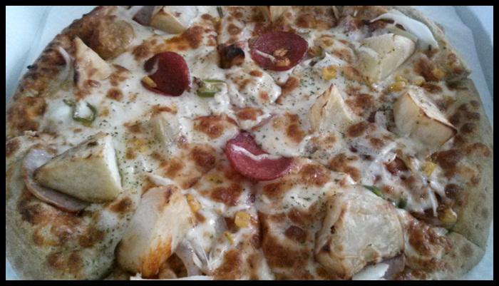라이딩 마무리는 피자~!