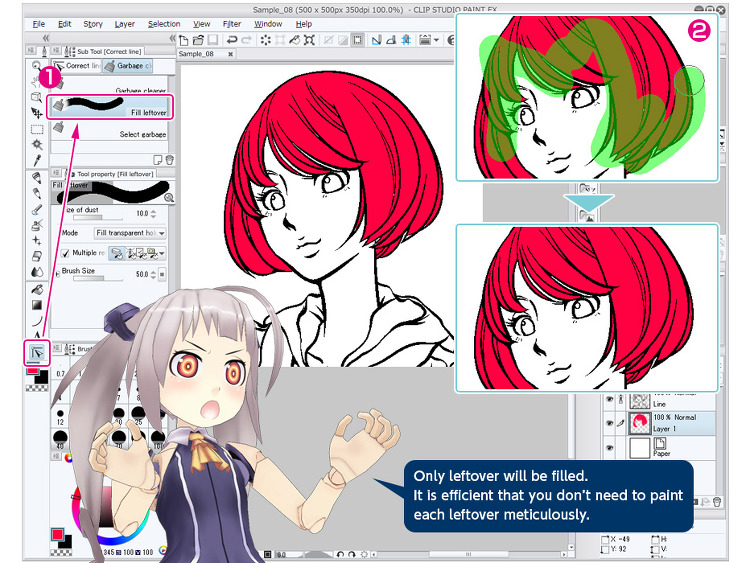 how to put tools on the side in clip studio