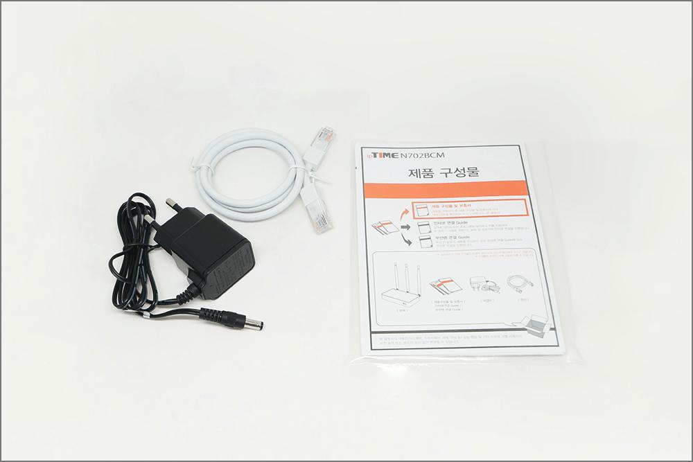 N702BCM 제품 구성물
