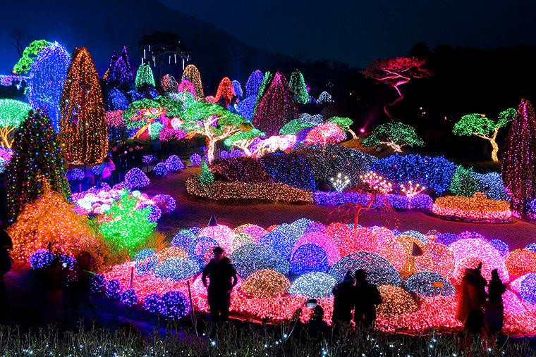 오색불빛정원전 구르미그린달빛 촬영지 조명축제