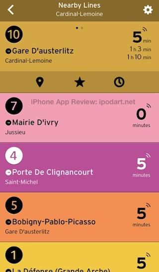 아이폰 추천 앱 여행을 위한 교통정보 Transit App 미국과 캐나다 프랑스