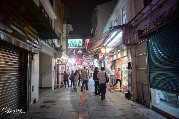 쿤하거리의 골목길