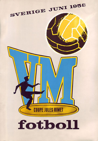 1958 Sweden World Cup logo