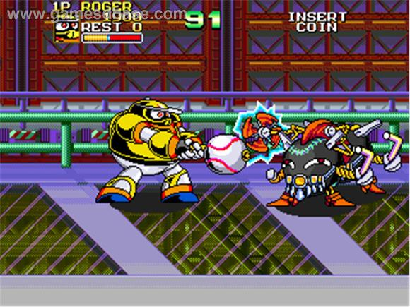Ninja Baseball Bat Man game