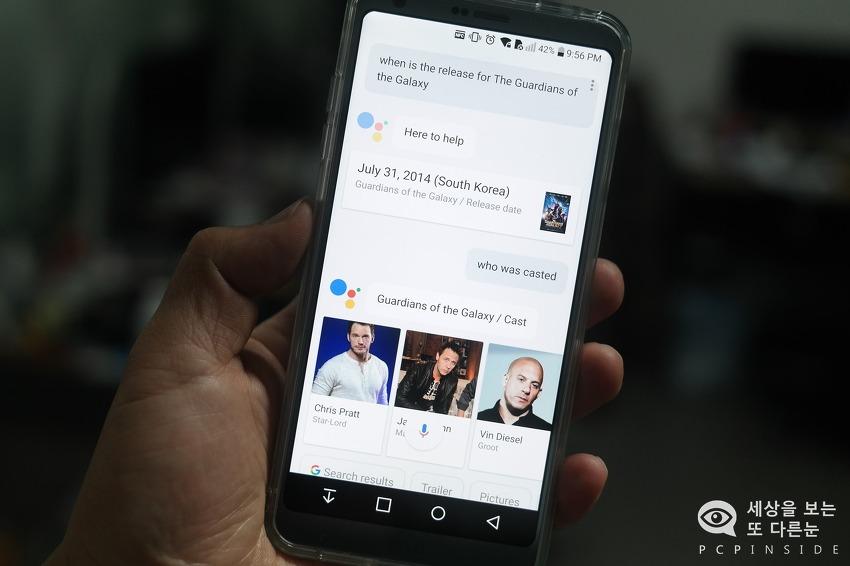 G6 구글 어시스턴트 vs 삼성 빅스비, 그 승자는 누구?