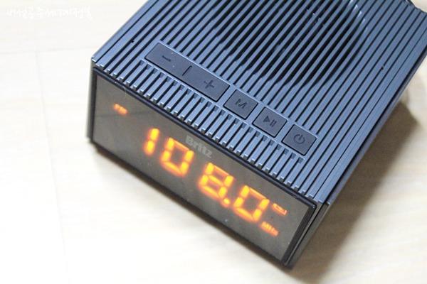 블루투스 알람 라디오 시계 스피커