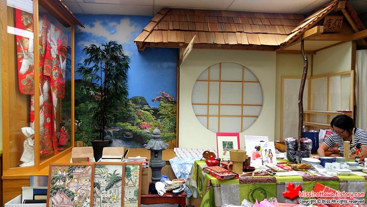 캐나다 일본 벼룩시장 플리마켓 다다미 방