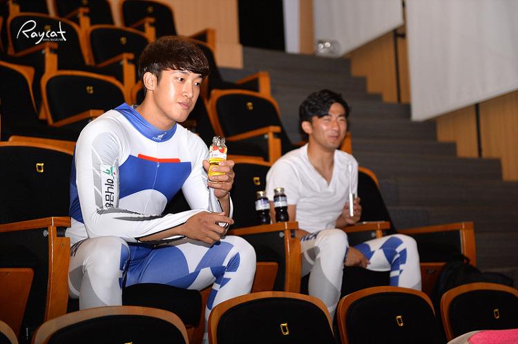 루지 국가대표 선수들