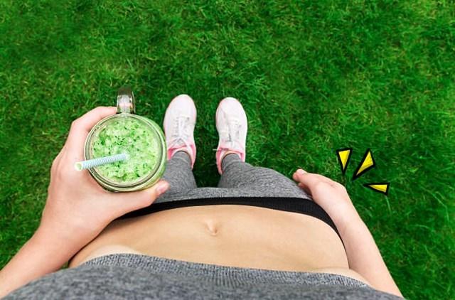다이어트식품 뱃살빼는음료 내장지방