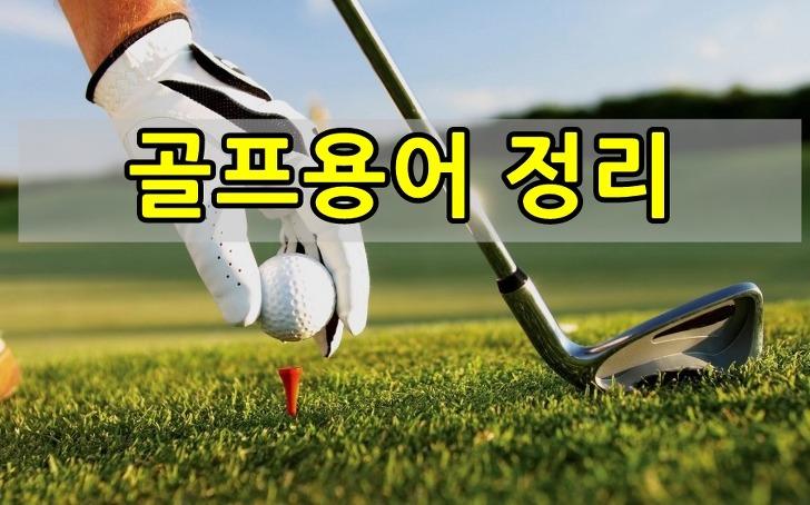 골프용어 / 용어를 알면 골프가 더 재미있어요~~