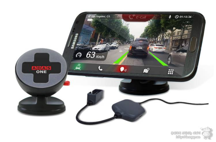 킥스타터에 등장한 AONE, 안전운전을 위한 스마트폰 ADAS 시스템