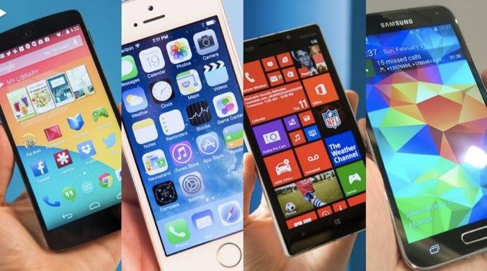 갤럭시S5 스펙 비교표, 아이폰5 vs 넥서스5 vs 루미아 아이콘