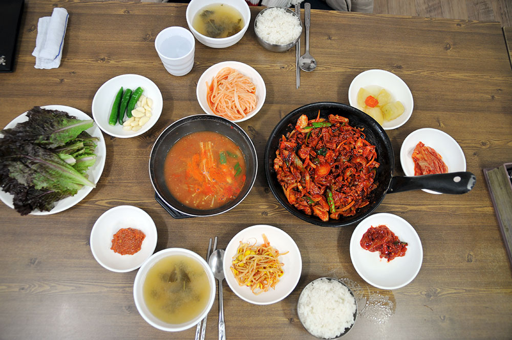 부산 초량동 원조 시골밥상 초량 불백