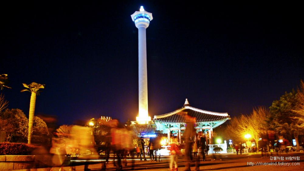 용두산공원 부산탑