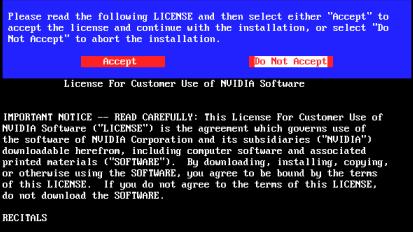 nvidia linux driver installer