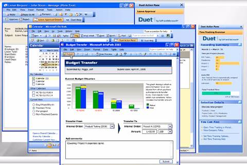 Example of Duet by Microsoft and SAP [Source: SAP]