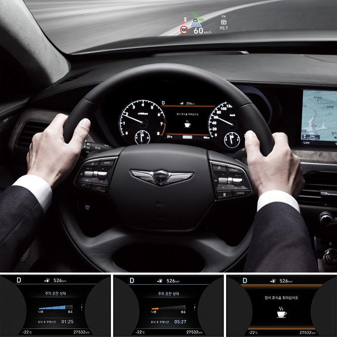 부주의 운전 경보 시스템
