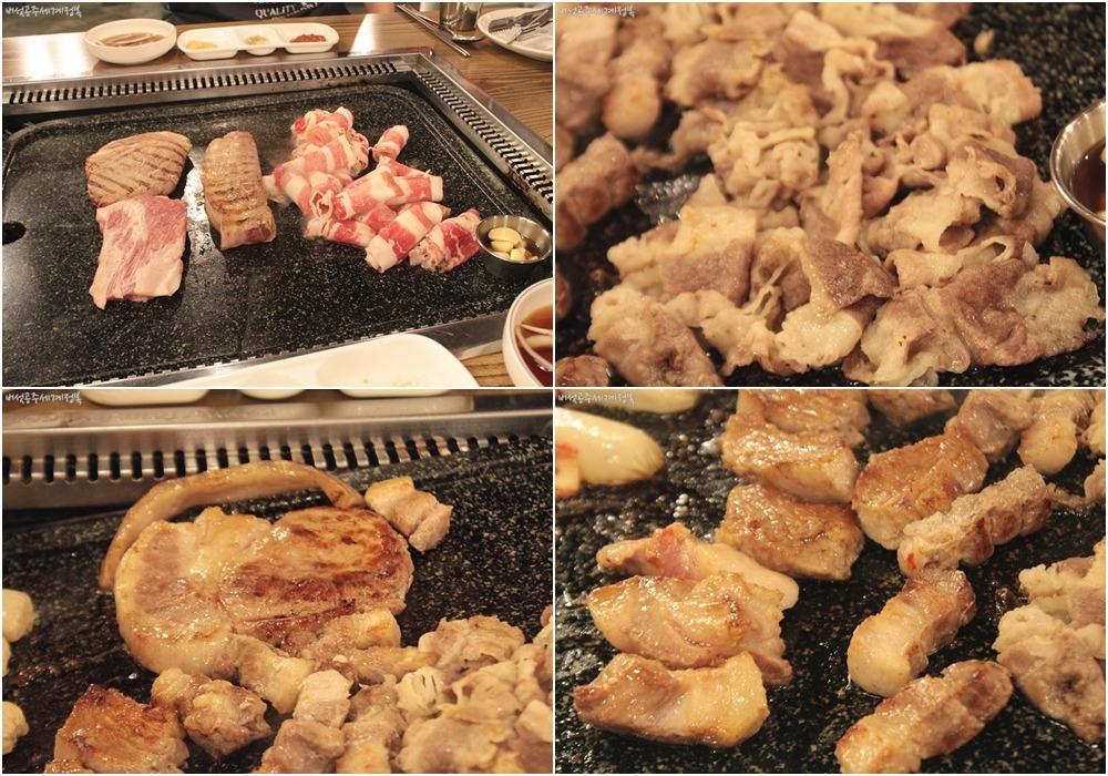 분당 서현역 무한리필 고기집 <6구역>, 국내산 통삼겹 고기, 밥, 반찬, 찌개사리까지 무한!
