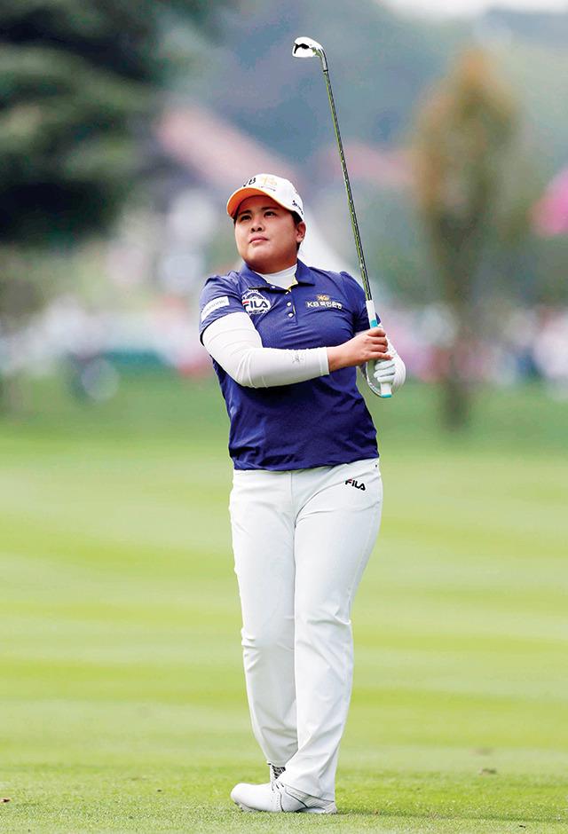 여자 골프 박인비