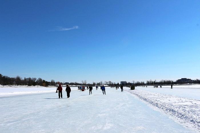 캐나다 오타와 리도 운하 아이스 스케이트장 Canada Ottawa Rideau Canal skatway