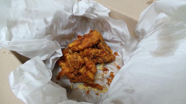 먹고 남은 치킨