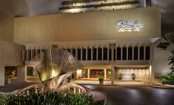[여행]Regent Singapore - A Four Seasons Hotel (리젠트 싱가포르 호텔 또는 리전트 싱가포르 호텔)