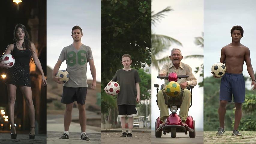 브라질의 묘기축구 고수들이 보여주는 트릭샷 - 맥도날드(McDonald's)의 GOL! FIFA World Cup, Brasil 2014 바이럴 필름(Viral Film)