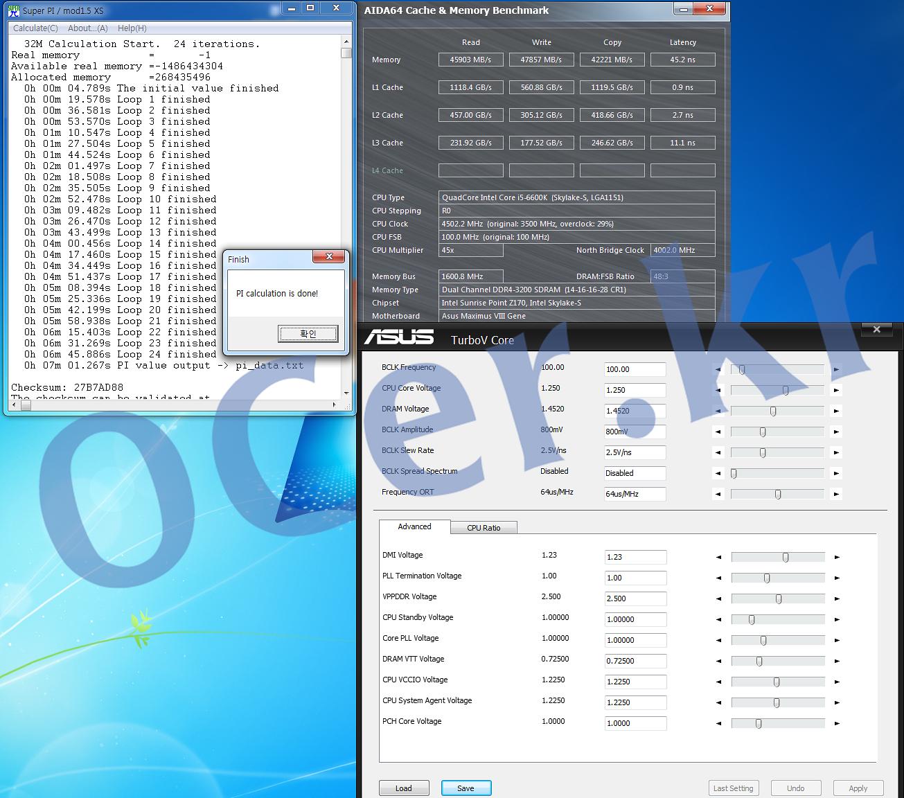 skylake, intel, 인텔, 오버클럭, 오버클러킹, overclocking, overclock, it, 리뷰, 이슈, g.skill, 지스킬, 오버클럭 메모리, G.SKILL F4-3000C15D-8GRK, 고성능메모리,티뮤정품,g.skill메모리,게이밍메모리,립죠스