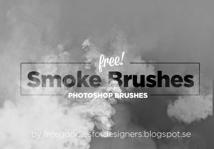 4 가지 고해상도 연기 포토샵 브러쉬 - 4 Free Smoke Photoshop Brushes