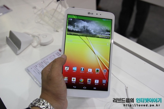 LG G패드 8.3 구글플레이 에디션 출시